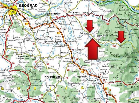 banja-zdrelo-mapa